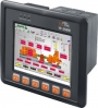 "InduSoft based ViewPAC with 5.7"" LCD (English Version of OS) (RoHS), Win CE.NET 5.0, CPU PXA270 520MHz, 1x RJ-45 10/100 Base-TX, 1x USB, 1x RS-232, 1x RS-485, 3x Expansion I/O slots, programmable, WT-20+70, PLC, display"